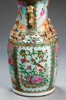 19th Century Canton Vase Lamp (3 of 3)