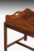 George III Period Mahogany Tray with a Shaped and Swept Border (3 of 5)