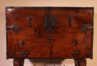 Spanish Renaissance Cabinet Bargueno in Walnut - Early 17th Century (5 of 18)