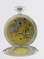 Omega Silver Open Face  Pocket Watch Swiss 1937 (3 of 6)