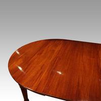 Edwardian mahogany circular extending dining table (11 of 14)