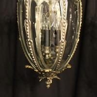 French Pair of Silver Gilded Bronze Lanterns (4 of 8)