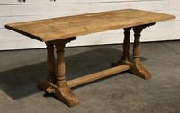 French Refectory Farmhouse Dining Table