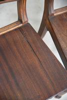 7 Antique Fruitwood Kitchen Chairs (7 of 9)