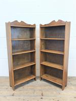 Pair of Early 20th Century Oak Bookcases (7 of 10)