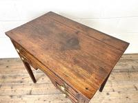 Early 19th Century Oak Side Table or Lowboy (8 of 10)