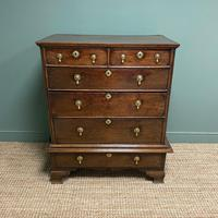 18th Century Country House Antique Chest on Stand (6 of 7)