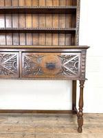 Decorative Antique Carved Oak Dresser (4 of 10)
