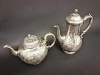 Victorian Four Piece Silver Teaset (2 of 4)