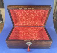 William IV Pewter Inlaid Rosewood Box (11 of 18)