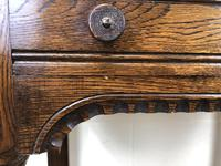 Early 20th Century Antique Oak Side Table (8 of 10)