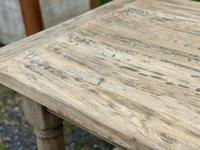 Rustic Bleached Oak French Farmhouse Dining Table (10 of 34)