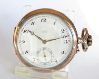 Antique Silver Henry Moser Pocket Watch (5 of 5)