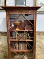 Late Victorian Bookcase with Glazed Door & Adjustable Shelves (5 of 7)