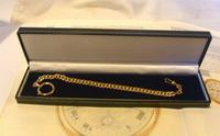 Antique Pocket Watch Chain 1890s French Victorian 14ct Rose Gold Filled Albert (12 of 12)