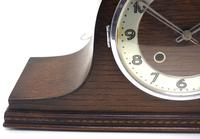 Art Deco Napoleon Hat Shaped Mantel Clock – Striking 8-day Arched Top Mantle Clock (3 of 10)
