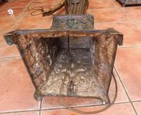 2 Bronze Art Nouveau Style Lamps (2 of 12)