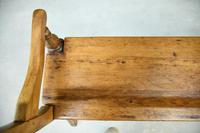 Rustic Pine Bar Back Bench (4 of 7)