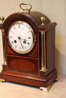 Mahogany and Inlay Bracket Clock (7 of 13)