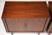 Pair of Danish Vintage Rosewood Cabinets by Kai Kristiansen (6 of 12)