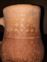 12th Century Historically Rare Crusader Knights Geometric Ware Earthenware Jug (5 of 13)