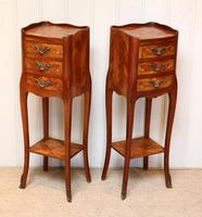 Pair of Tulipwood Bedside Cabinets (8 of 10)