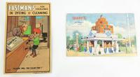 2 20th Century Advertising Postcards. Eastmans & Sons. Sharps at Wembley 1924