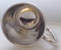 E Viner 1961 Hallmarked Solid Silver 1 One Pint Tankard Christening Mug 350g (5 of 9)