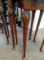 Burr Walnut Nest of Tables (2 of 7)