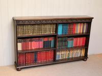 Oak Open Bookcase c 1930 (3 of 12)