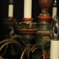 Florentine 18 Light Polychrome Chandelier (8 of 10)