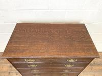 19th Century Antique Oak Chest of Drawers (4 of 9)