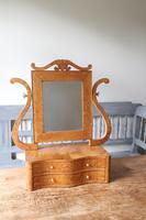 Swedish Birch / Masurbjörk Box Mirror Rococo style c.1820 (11 of 15)