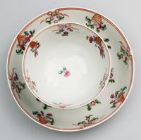 New Hall Porcelain Tea Bowl & Saucer, ex de Saye Hutton Collection 1790 (2 of 6)