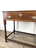 Antique 19th Century Oak Lowboy Side Table (11 of 11)