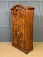 19th Century Burr Walnut Wardrobe (5 of 16)