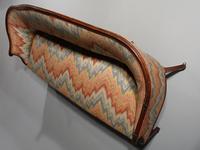 Shapely & Elegant Mid 19th Century Camelback Sofa (3 of 5)