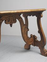 Antique Spanish Style Gilded Side Table by Whytock & Reid (14 of 14)