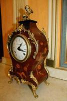Very Rare Franz Hermle Imperial Boulle Gilt Ormolu Clock (3 of 6)