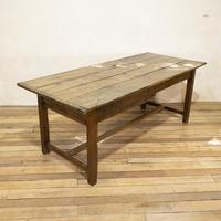 George III Oak Country Refectory Farmhouse Table (3 of 14)