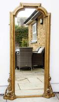 Full Height Victorian Giltwood Pier Mirror / Dressing Mirror (3 of 27)