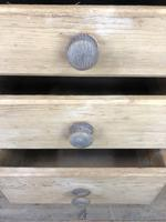 Rustic Pine Three Drawer Pedestal Chest (4 of 9)