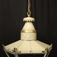 English Single Light Polychrome Lantern (3 of 10)