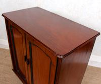 Filing Cabinet 19th Century Mahogany Birdseye Maple (9 of 10)