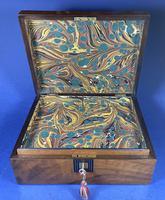 Victorian Walnut Jewellery Box (7 of 12)