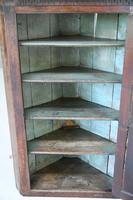 Large Mahogany Georgian Corner Cupboard (7 of 12)