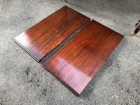 Antique Mahogany Wind Out Extending Dining Table (12 of 12)