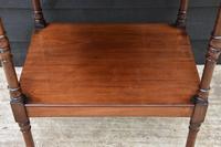 Fine Quality 19th Century Georgian Mahogany Three Tier Whatnot / Display Stand / Shelves. (7 of 11)