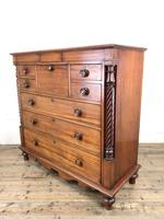 Large Victorian Mahogany Chest of Drawers (7 of 16)