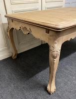 French Bleached Oak Extending Dining Table (6 of 17)